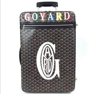 Goyard Torole Herringbone carryon Travel  luggage